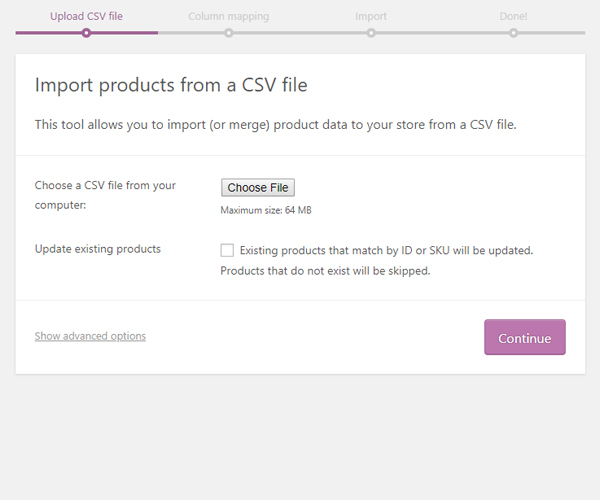 excel 4 How to use excel file (.csv) to upload your product on your website