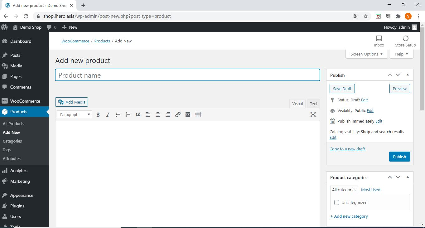 add new How to add product in WooCommerce