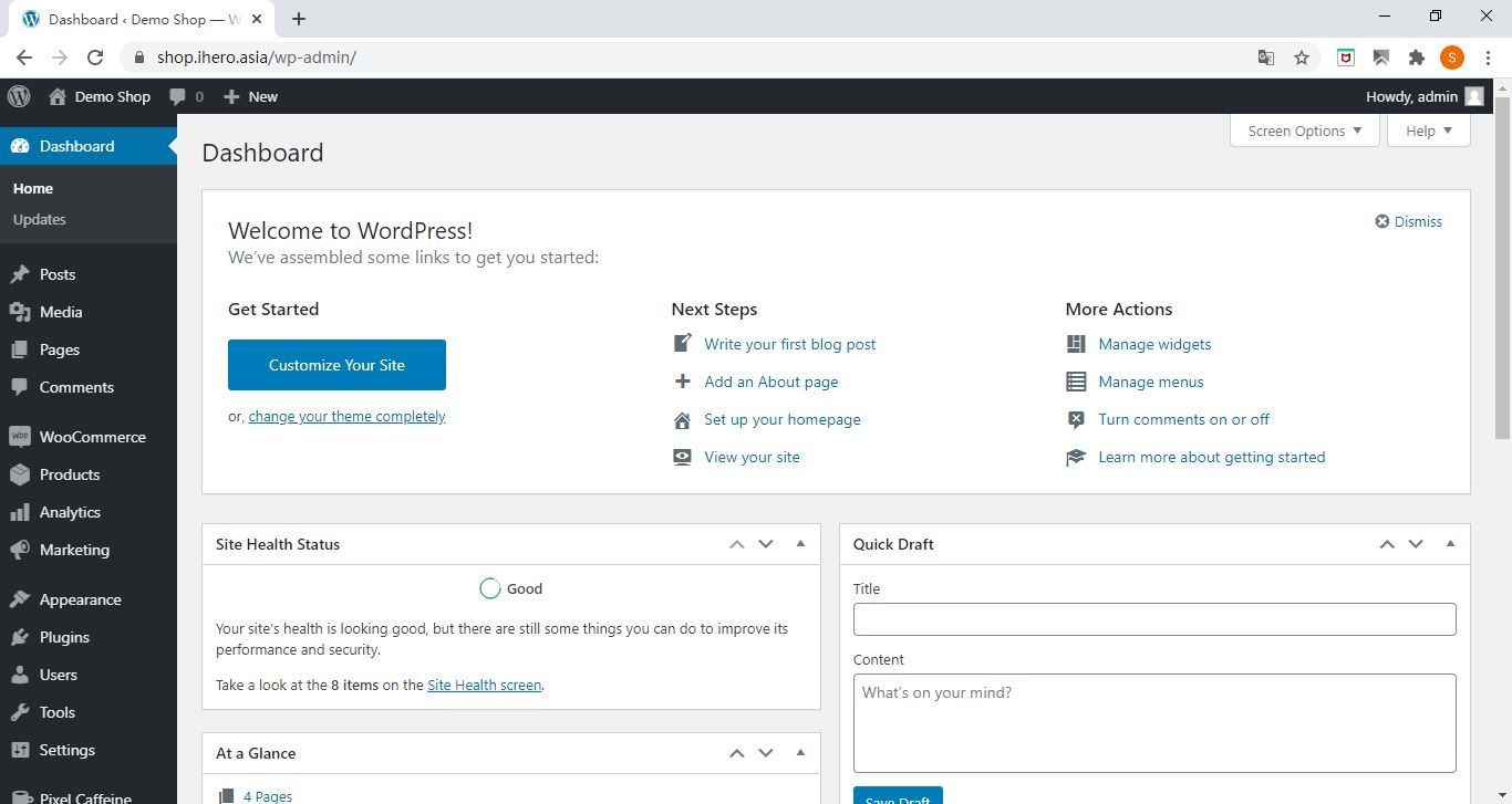 admin page How to add product in WooCommerce