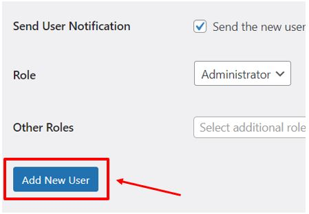 User3 How to add new user